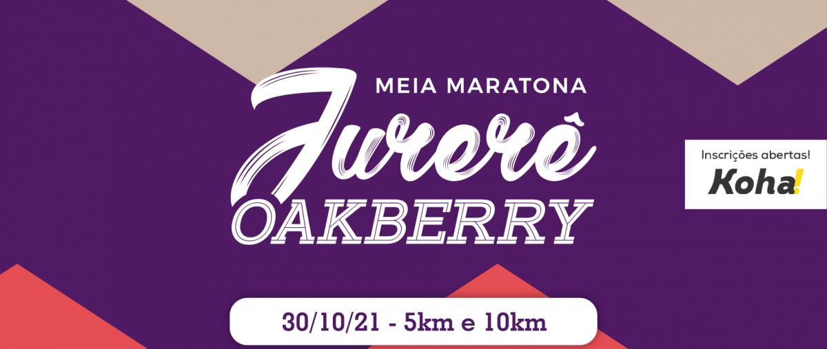 Meia Maratona de Jurerê Oakberry 2021 (5k e 10k) - 31/10/21