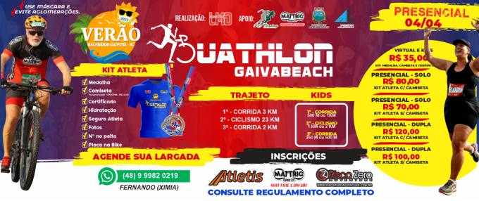 III Duathlon Gaiva Beach - PRESENCIAL