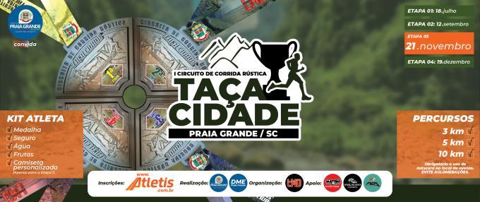 3ª Etapa - Circuito de Corrida de Rua - Taça Cidade (NOVA DATA)
