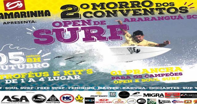 2° Morro dos Conventos OPEN de SURF