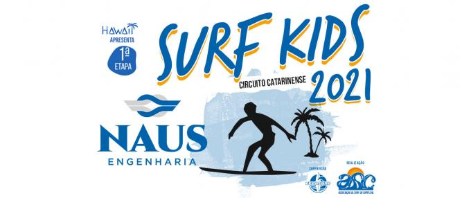 1ª Etapa do Circuito Naus Engenharia SURF KIDS 2021
