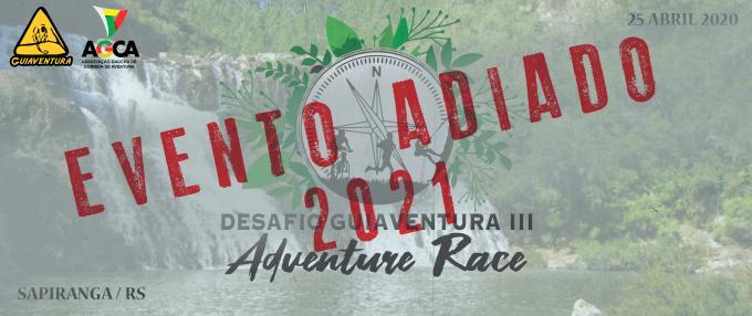 Desafio Guiaventura III - Adventure Race