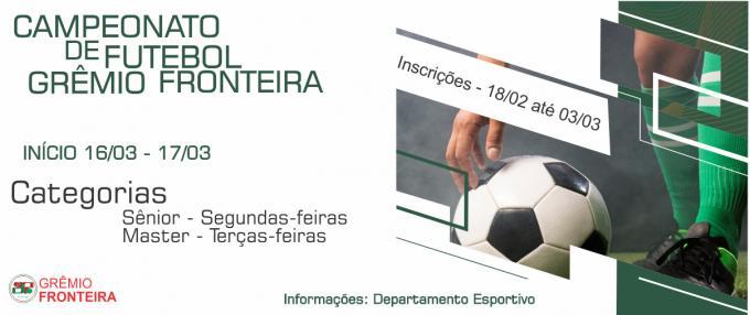 Campeonato de Futebol - Grêmio Fronteira