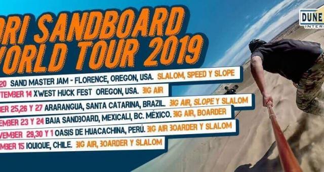 3ª Etapa - Circuito Mundial de Sandboard