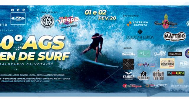 40° AGS Open de Surf - Balneário Gaivota