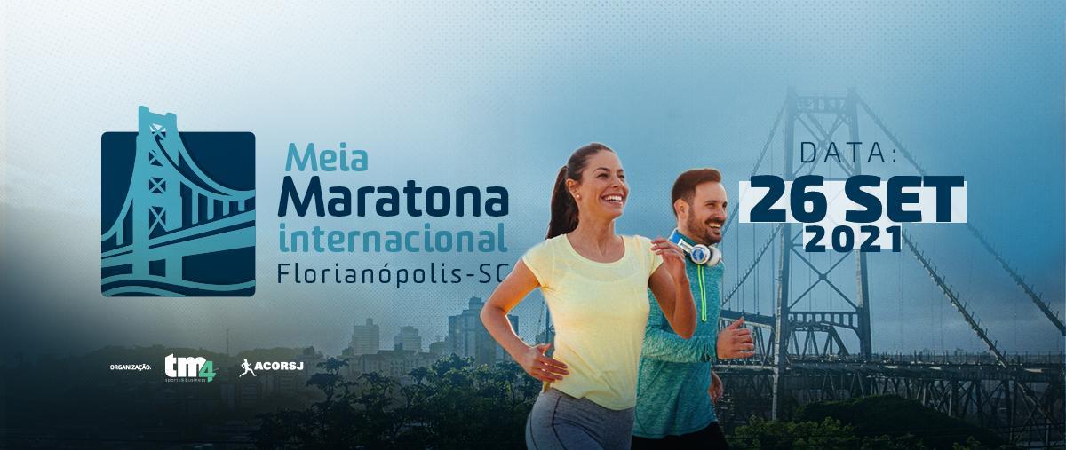 16ª Meia Maratona Internacional de Florianópolis - 26/09/21