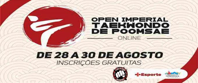 FAIXA PRETA - OPEN IMPERIAL TAEKWONDO DE POOMSAE