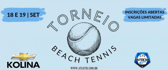 Torneio KOLINA CHEVROLET de Beach Tennis - ARENA 421