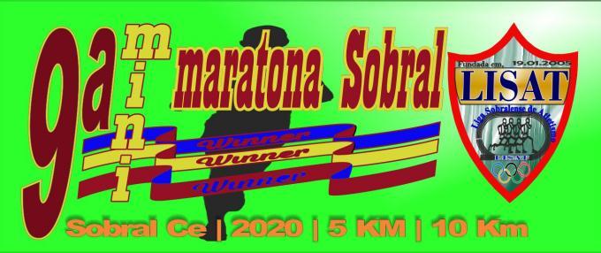 9ª MINI MARATONA DE SOBRAL 2020 - 10KM E 5KM