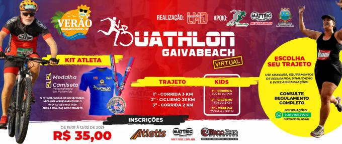 Duathlon Gaivabeach - Virtual