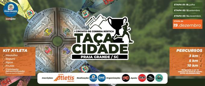 4ª Etapa - Circuito de Corrida de Rua - Taça Cidade