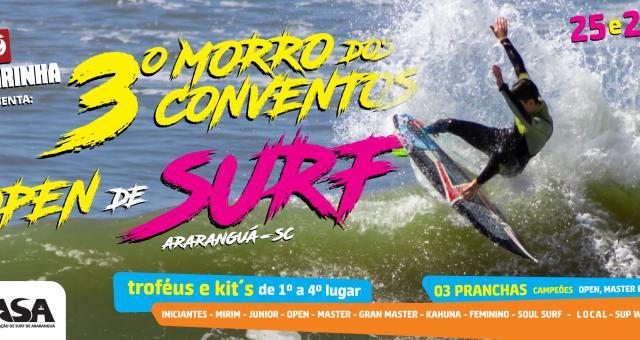 3º Morro dos Conventos - Open de Surf