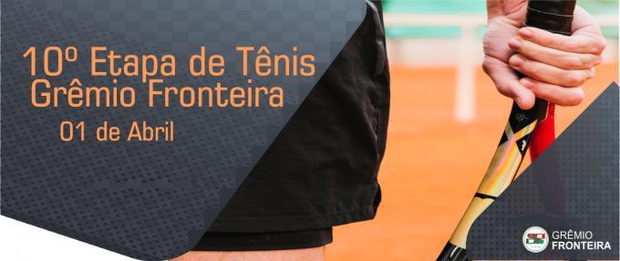 10º Etapa de Tênis do Grêmio Fronteira
