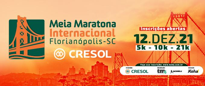 16ª Meia Maratona Internacional de Florianópolis Cresol
