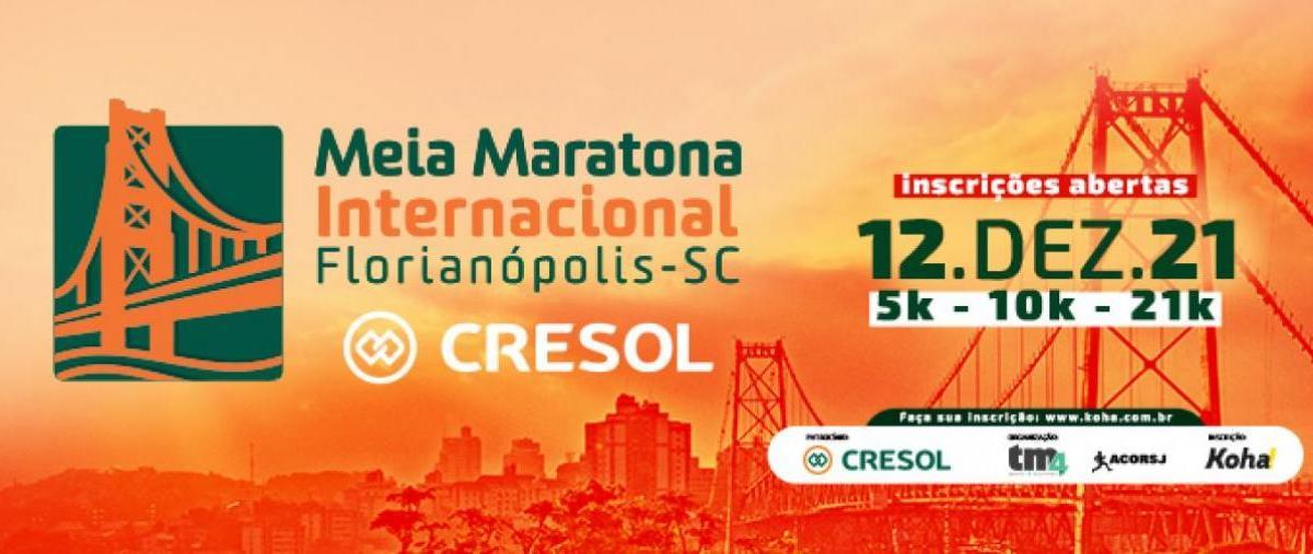 16ª Meia Maratona Internacional de Florianópolis Cresol - 12/12/21