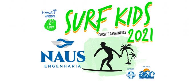2ª Etapa do Circuito Naus Engenharia SURF KIDS 2021
