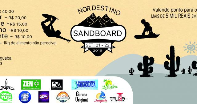 ETAPA NORDESTINA DE SANDBOARD