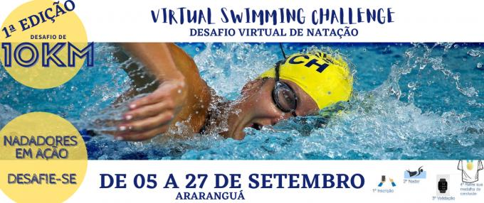 1ª Virtual Swimming Challenge (Desafio virtual de natação)